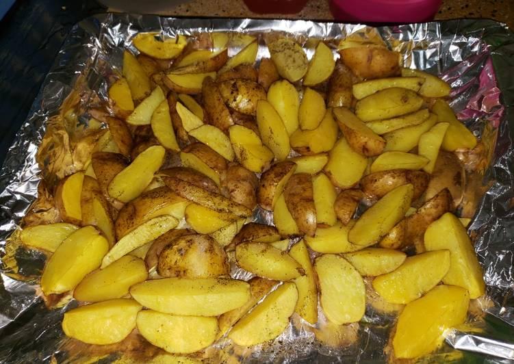 Oven baked jacket potatoes