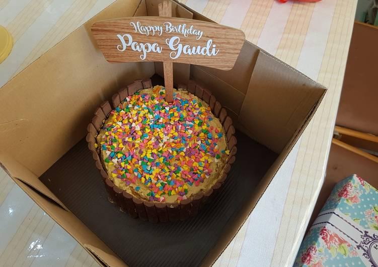 Basic Coffee Sponge Cake for Birthday/Kue Ulang Tahun - cookandrecipe.com