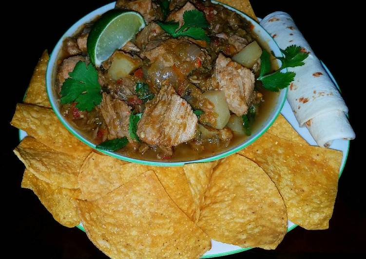Mike's New Mexican Pork Stew