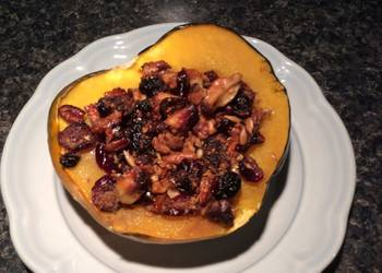 How to Cook Perfect Nutty Stuffed Acorn Squash