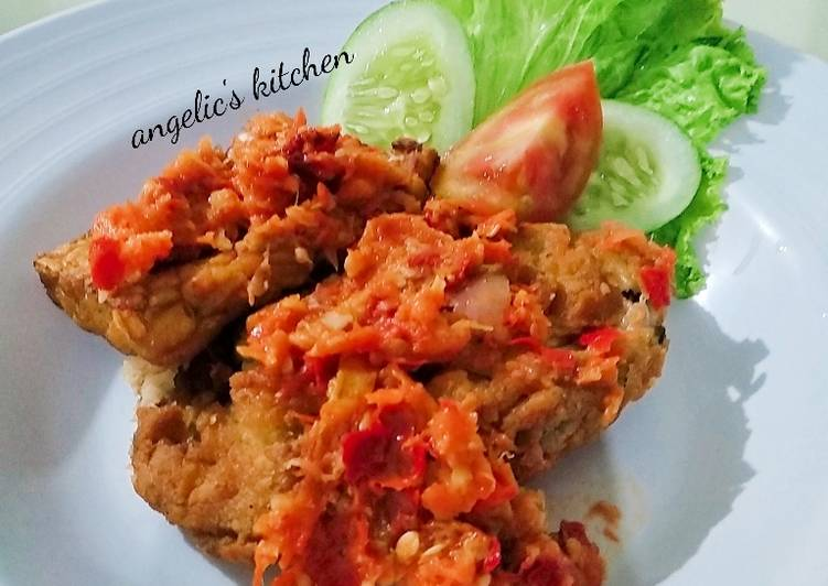 Resep Ayam Geprek Crispy Thai Sauce Oleh Angelic S Kitchen Cookpad