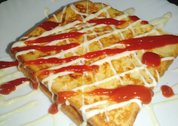 Cheesy Salty French Toast