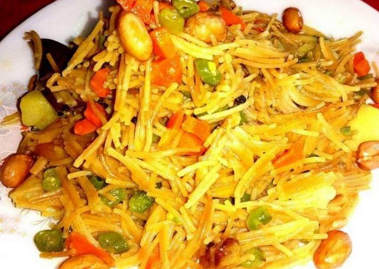 What are some Dinner Ideas Quick Vermicelli Upma