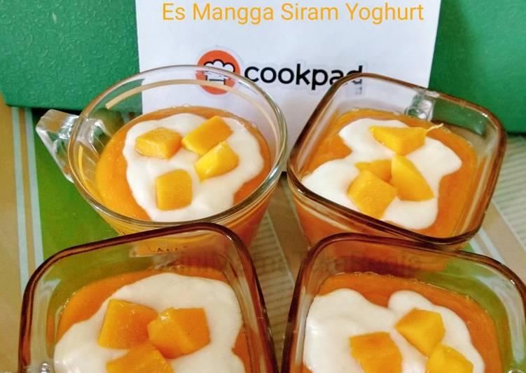 Es Mangga Siram Yoghurt
