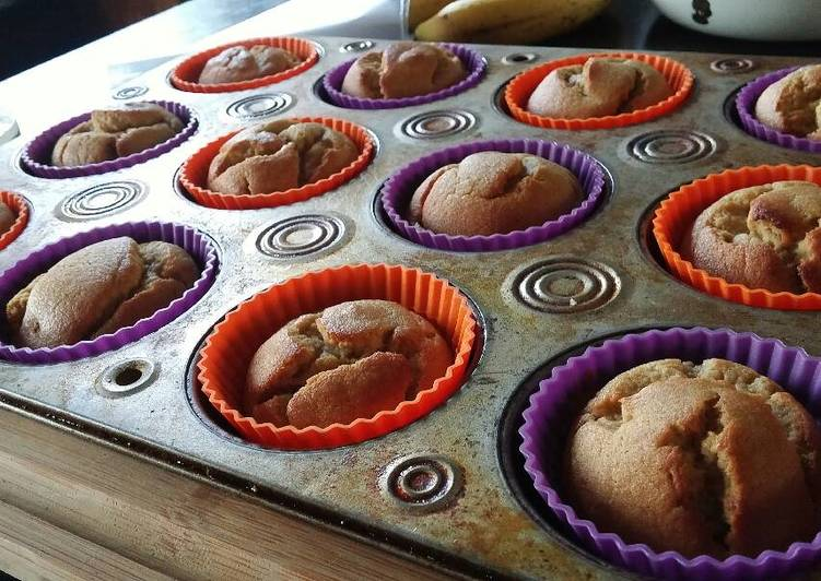 How to Make Yummy Banana bread muffins