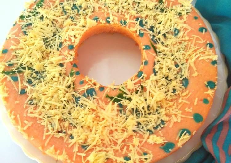 Brudel Cake Tape Keju (Bolu Jadul Tape Manado)