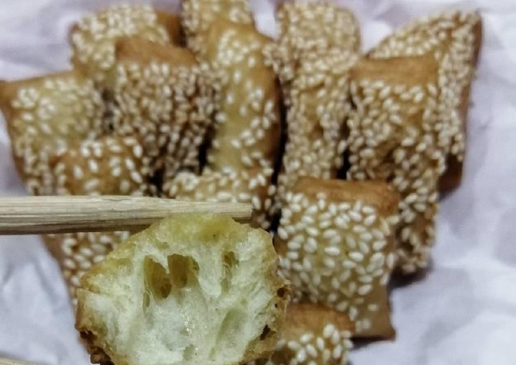 Odading/Roti Goreng/Roti Bantal (no ragi no ulen)