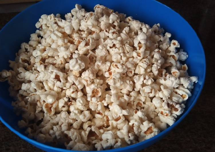 Simple Way to Prepare Super Quick Homemade Chillied popcorn