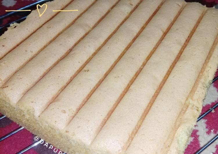 Resep: Enak Base Cake Ultah Anti Gagal