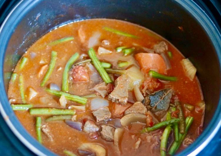 Recipe: Delicious Thai beef stew