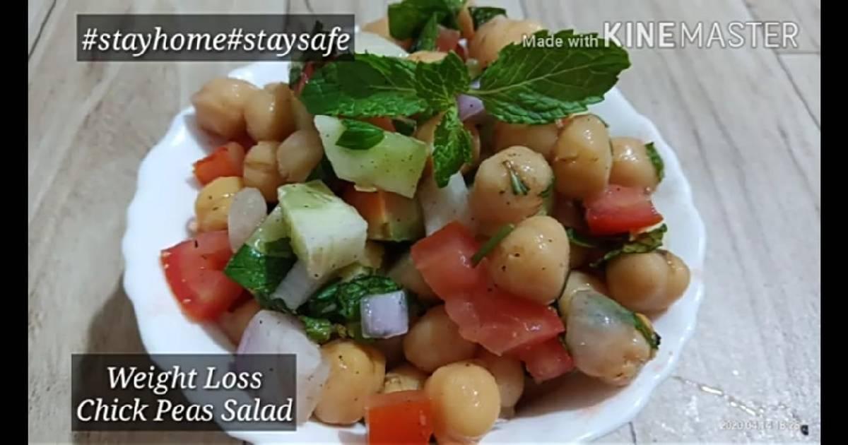 Lockdown Special Weight Loss Chickpeas Salad Chana Salad Recipe By Chhaya Chouhan Cookpad