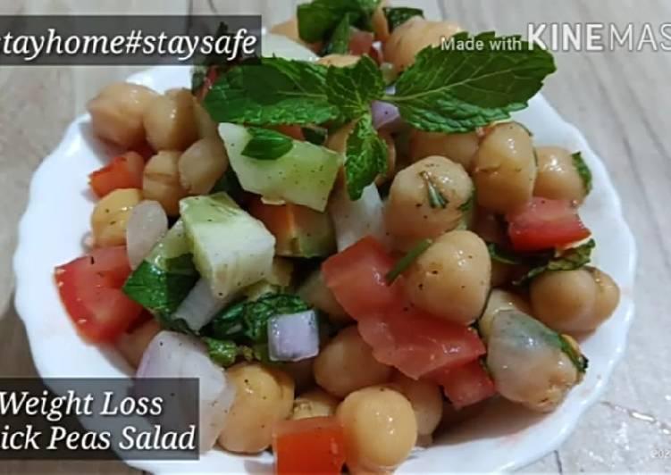 Lockdown Special# Weight Loss Chickpeas Salad/Chana Salad