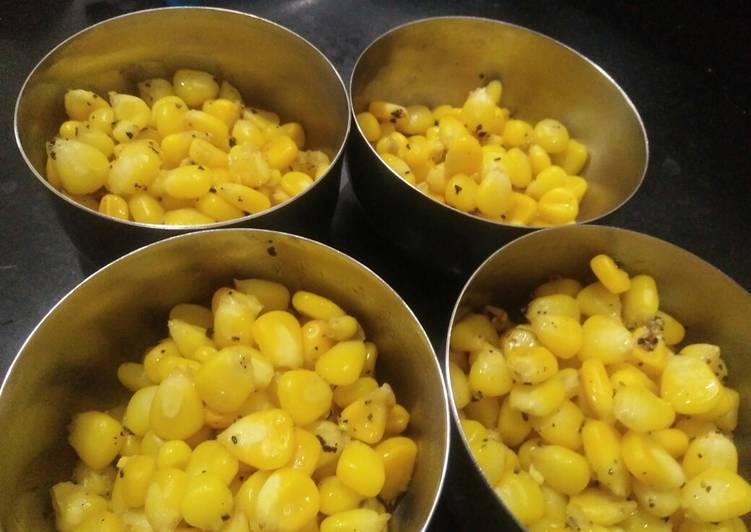 Recipe of Perfect #Butter Sweetcorn