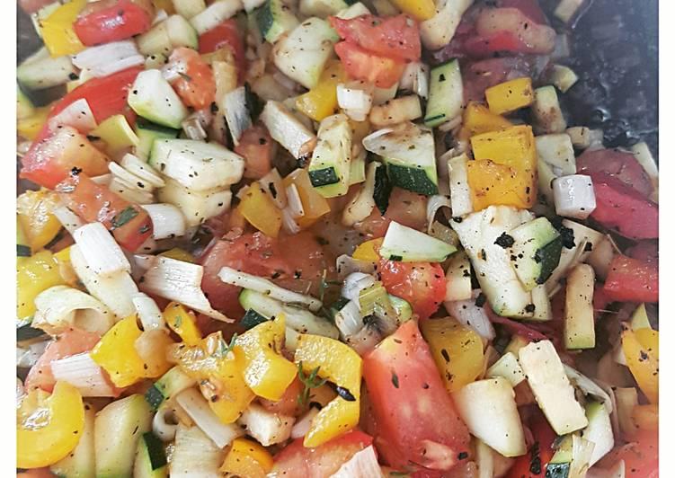 Légumes grillées au barbecue