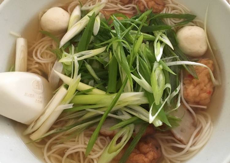 Somen udon soup, Choosing Healthy Fast Food