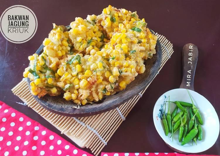 Resep Bakwan Jagung Kriuk 138 Yang Bikin Ngiler Resep Masakanku