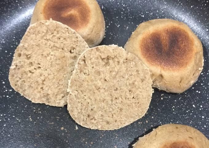 Petits pains express à la poêle /sans gluten