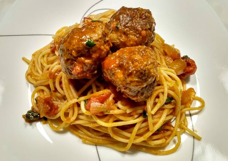Recipe of Favorite Spaghetti and Meatballs