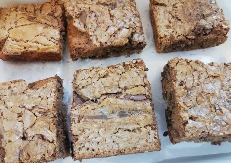 Steps to Prepare Homemade Hazelnut fudge brownies