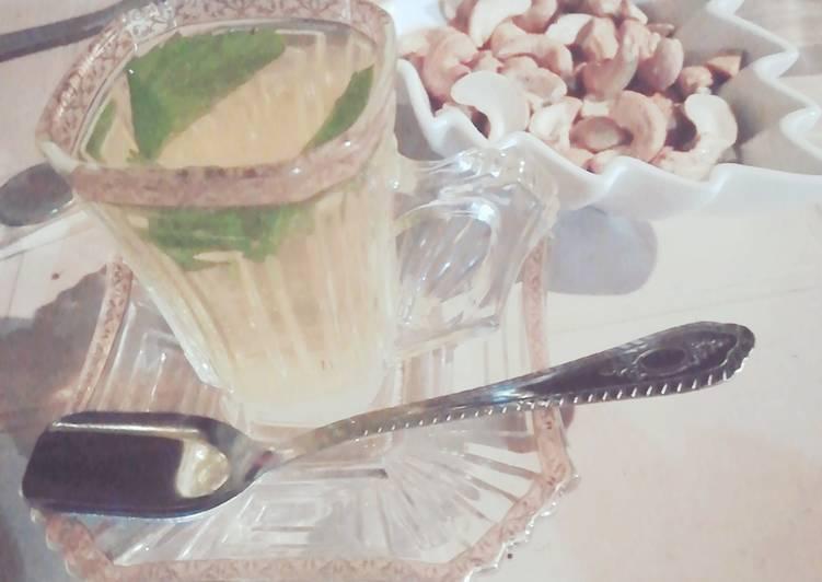 Menthe Aromatisé du gingembre