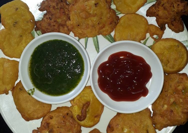 Steps to Make Ultimate Mix veg and potato fritters