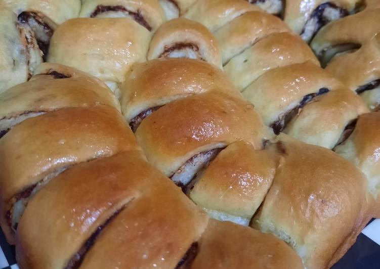 Roti Manis Tanpa Ulen atau Mixer