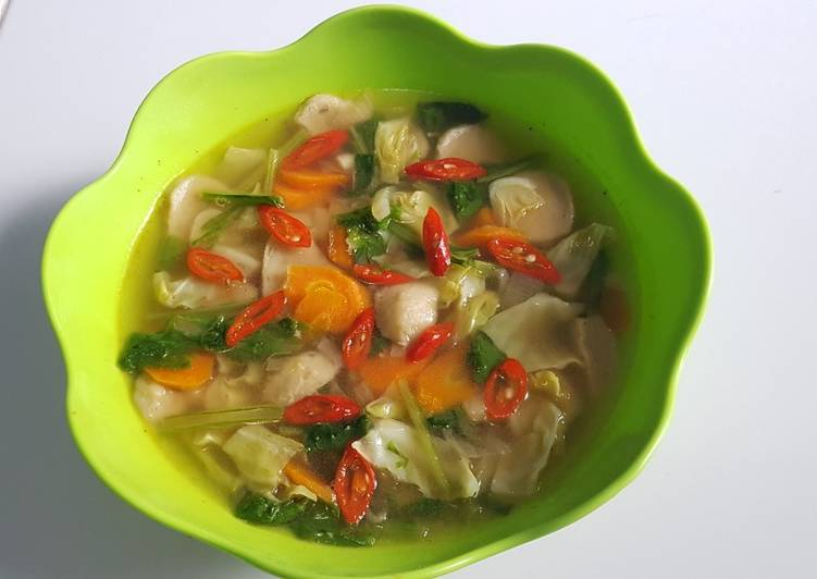 Resep Tumis Bakso Sayuran yang Lezat