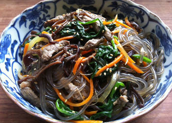 Easiest Way to Make Appetizing Sweet Potato Noodles Stirfry