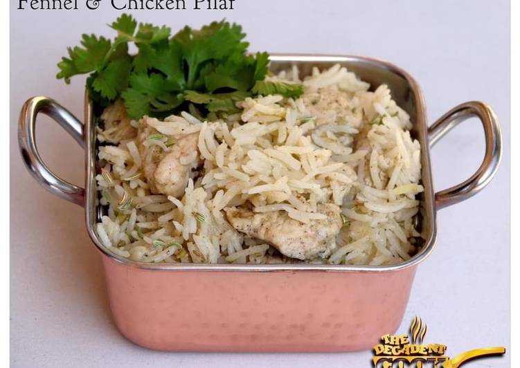 Chicken And Fennel Pilaf