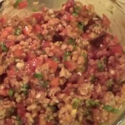 Ceviche De Soya Receta De Cocinando En Casa Hoy Cookpad