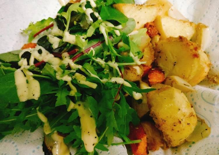 Simple roast vegetables