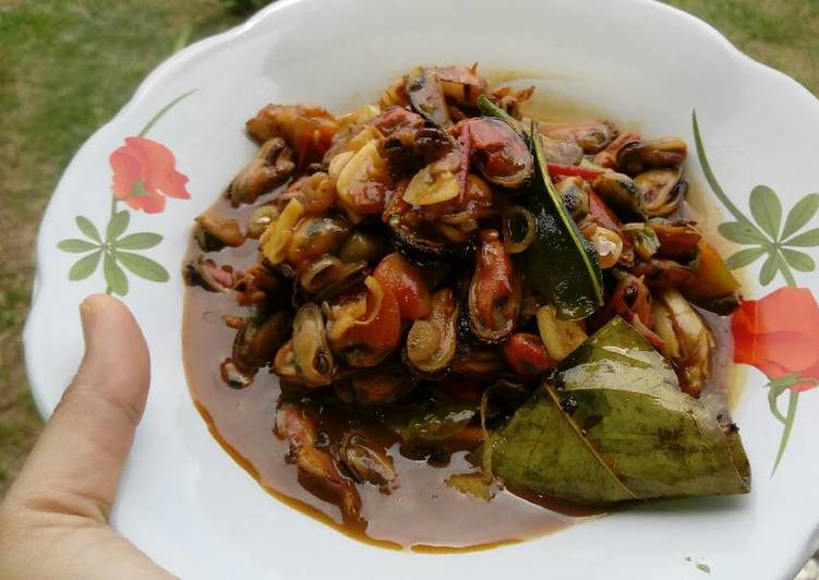 Resep Kerang Ijo Kupas Saus Tiram Oleh Uni Cookpad