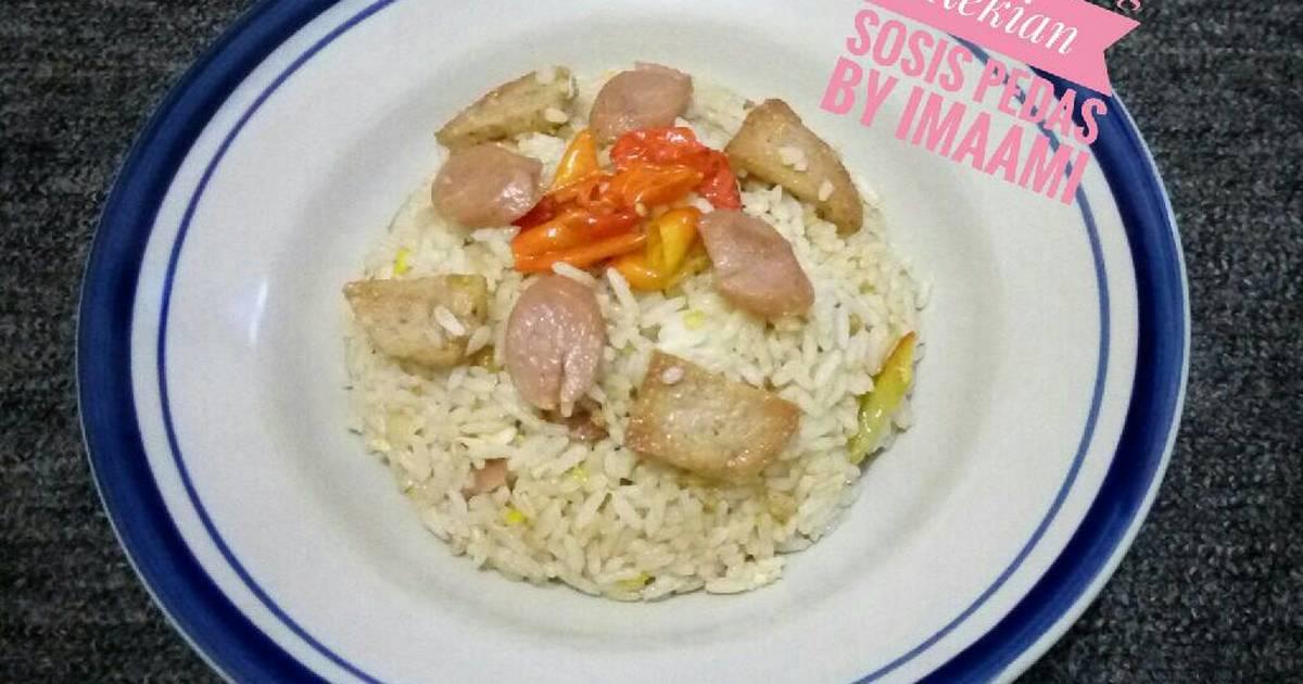 Resep Nasi Goreng Kekian Sosis Pedas Oleh Imaami Cookpad