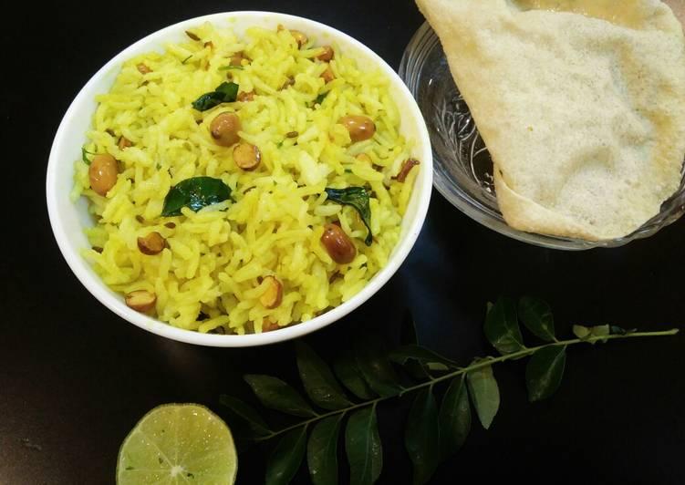 Easiest Way to Make Favorite Lemon Rice/ Chitranna
