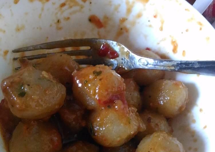 Cilok Bumbu Kacang