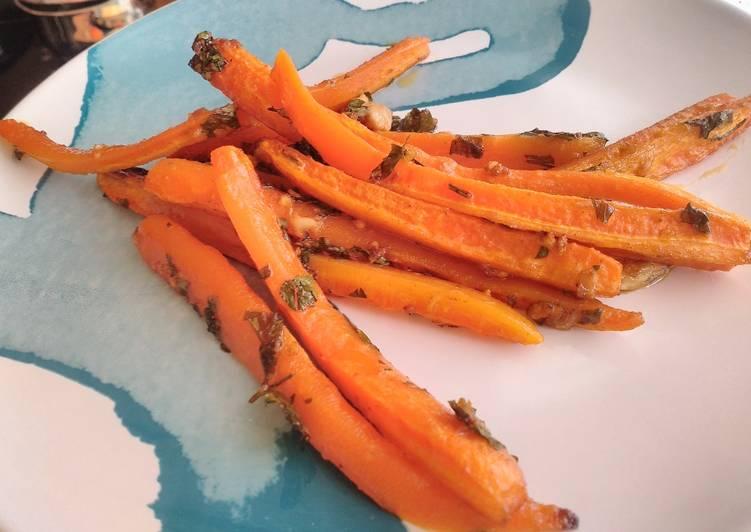 Tiras De Zanahoria Al Horno Receta De Mrlueees Cookpad Precalentamos el horno a 220ºc con calor arriba y abajo sin ventilador. tiras de zanahoria al horno receta de