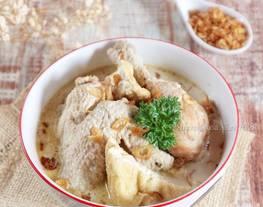 Opor Ayam & Tahu (Opor putih)