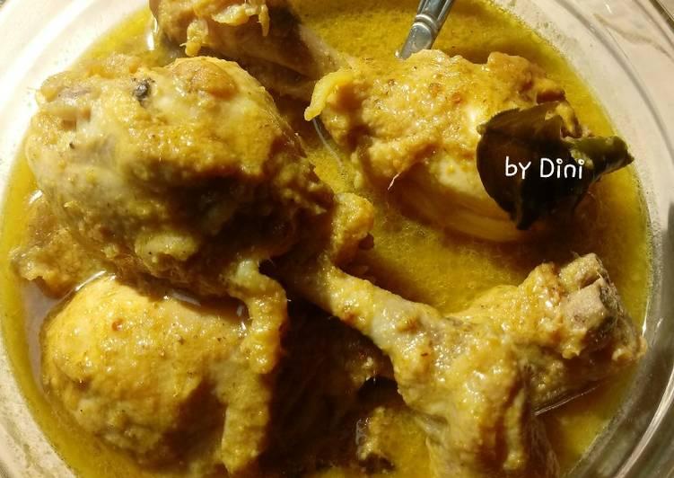 Opor Ayam Keto #ketopad