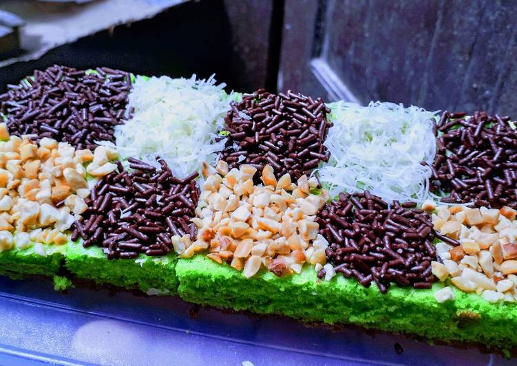 # Brownies Coklat Pandan #