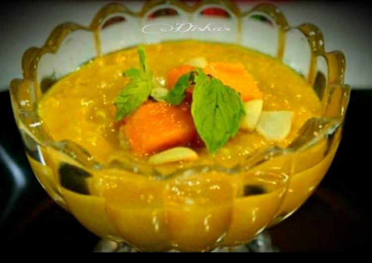 Steps to Prepare Homemade Cashew Papaya Srikhand