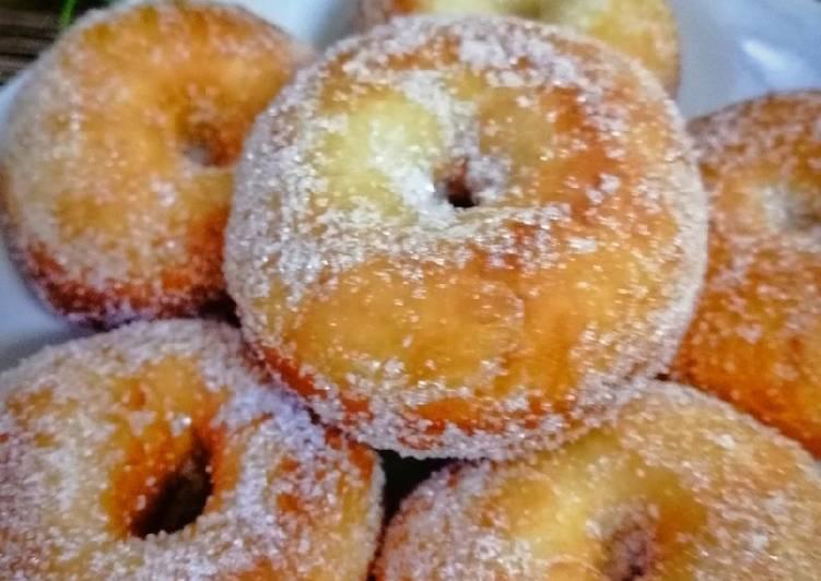 Cara Mudah Masak: Donut Gebu  Termudah