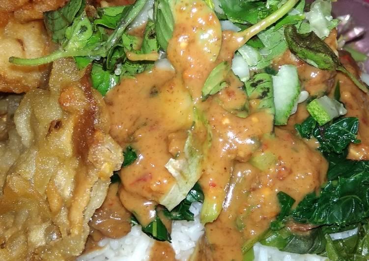 Nasi Pecel Tulungagung