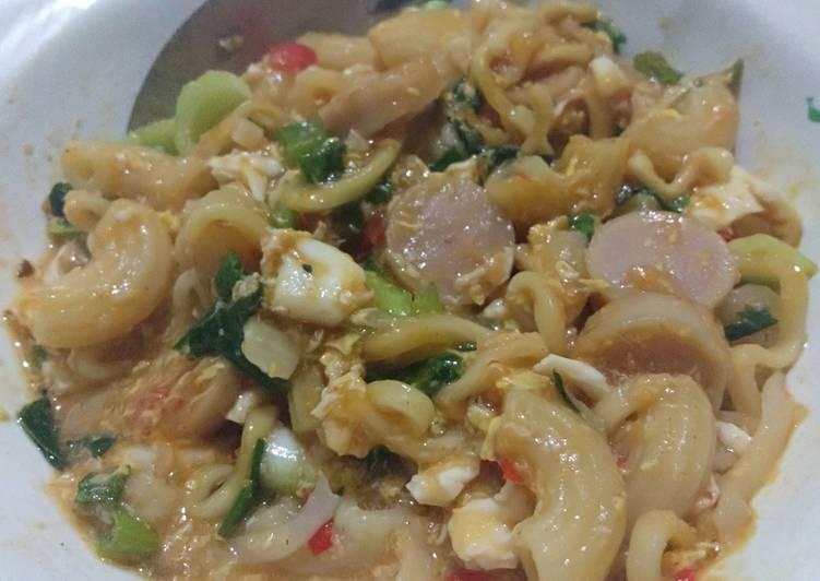 Seblak Mi-Ni (Mie-Macaroni)