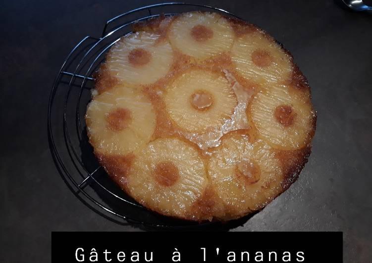 Le moyen le plus simple de Faire Appétissante Gâteau à l'ananas