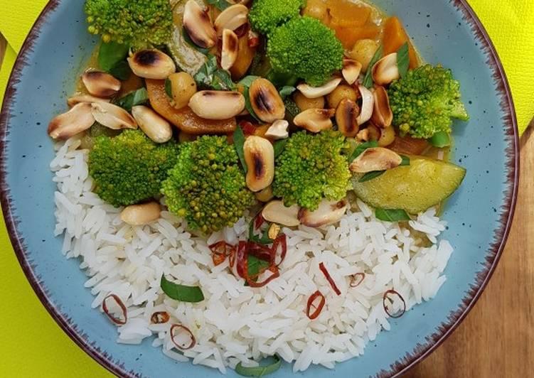 Kokos-Süsskartoffel-Curry