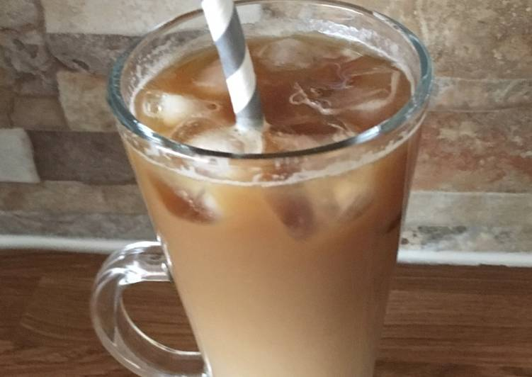 Recipe: Delicious Iced Latte