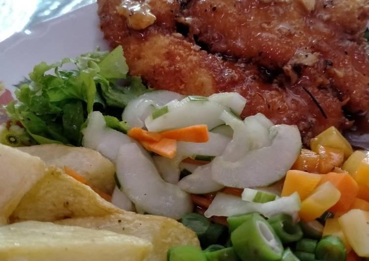 Chicken Steak Rumahan