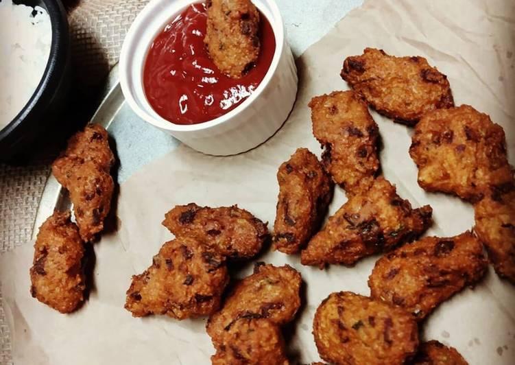 25 Minute Recipe of Favorite Chawal Ke Pakode Rice Pakoda