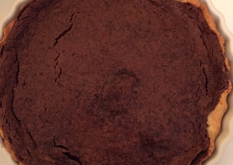 La Délicieuse Recette du Tarte au chocolat