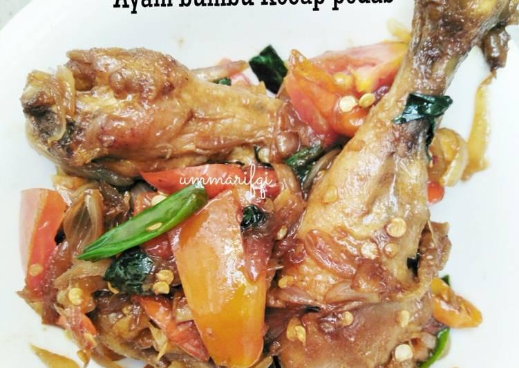 Ayam bumbu kecap pedes